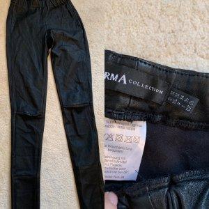 Arma Collection Pantalone in pelle nero