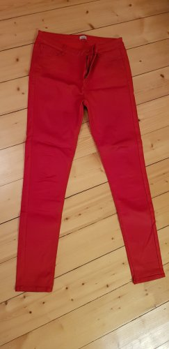 Leather Trousers brick red