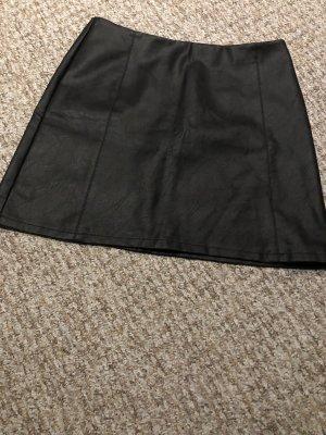 Primark Leather Skirt black