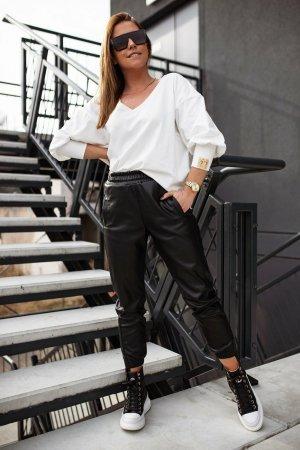 Bastet Skórzane spodnie czarny