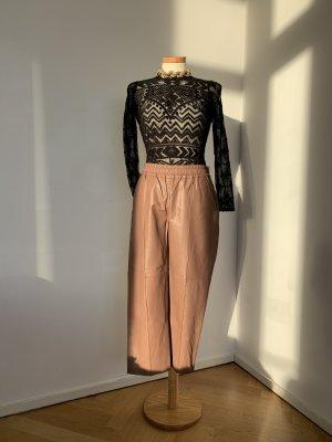 DAY Birger et Mikkelsen Leather Trousers brown