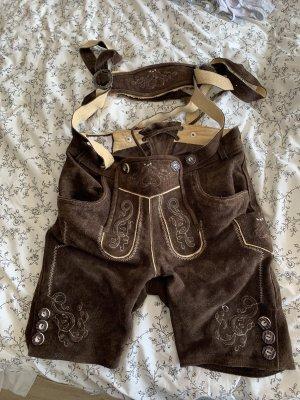 Edelnice Pantalone in pelle tradizionale multicolore