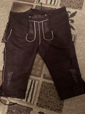 Traditional Leather Trousers brown