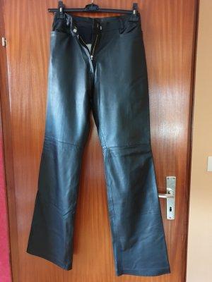 Stuhlmann Leather Trousers black