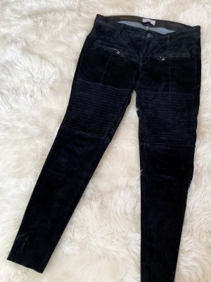 Hunkydory 7/8 Length Trousers black leather