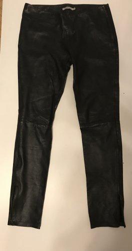 Kookai Pantalon en cuir noir