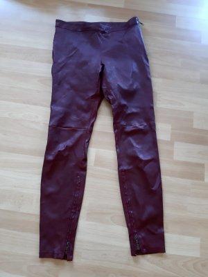Lederhose Gr. 36 Farbe Rouge