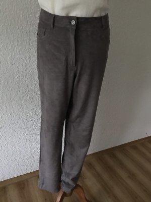 Lederhose grau Olsen Gr. 44
