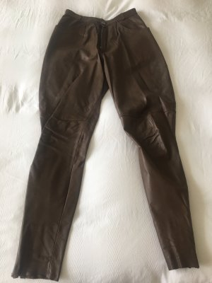 Pantalon d'équitation brun