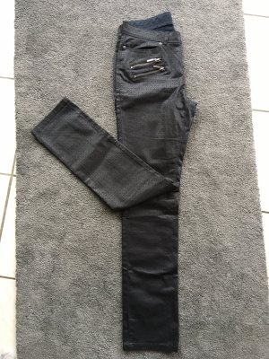 Tchibo / TCM Pantalón de cuero negro