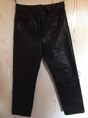 Stockerpoint Leather Trousers black