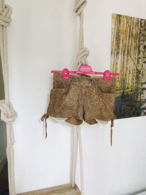 Krüger Pantalon traditionnel en cuir beige clair-beige