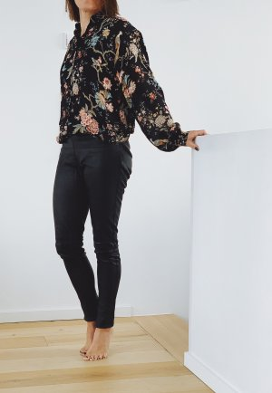 Oakwood Pantalón de cuero negro