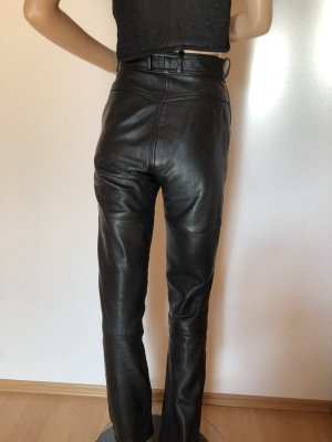 Hein Gericke Leather Trousers black leather