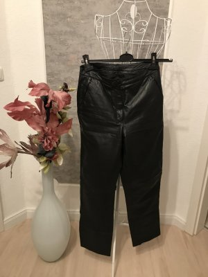 hydee Leather Trousers black leather