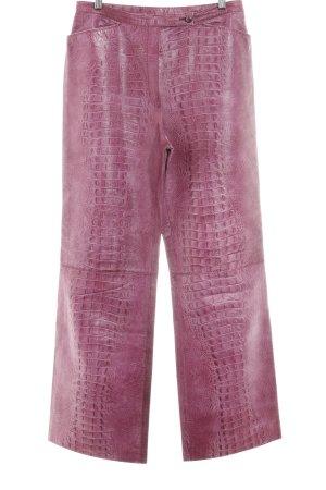 Lederhose pink extravaganter Stil