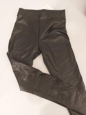 Miss Moda Leren broek zwart