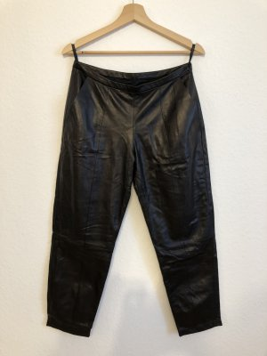 Drome Leather Trousers black