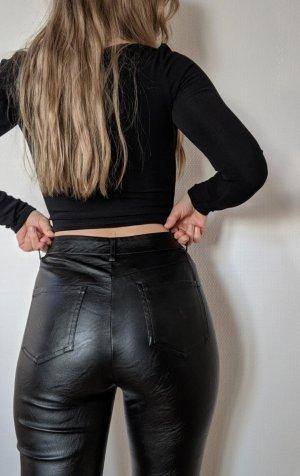 Tiger Mist. Skórzane spodnie czarny