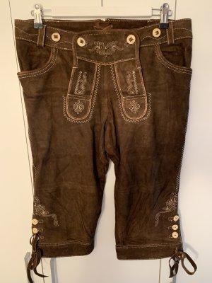 Pantalone in pelle tradizionale multicolore Pelle
