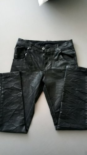 Lederhose vegan 40 schwarz