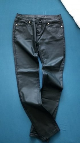 Ohne Label Leather Trousers black