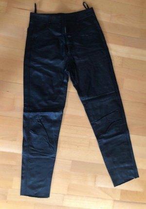 Lederhose von Closed in schwarz