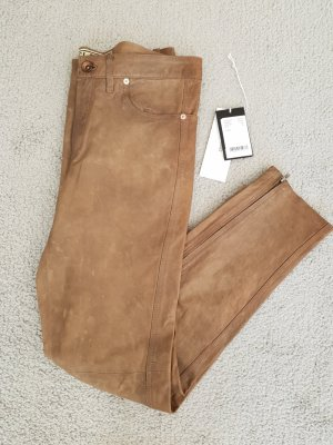 Closed Leather Trousers light brown