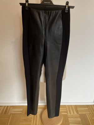 Gerry Weber Leather Trousers black