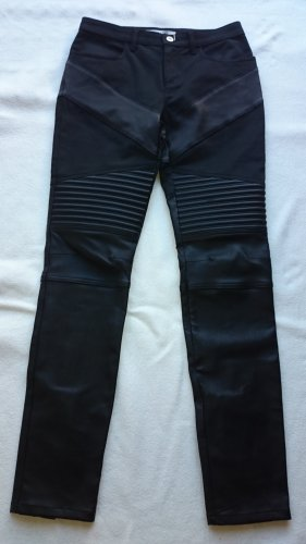 Givenchy Leather Trousers black leather