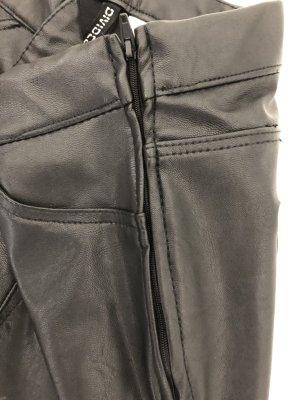 H&M Pantalone in pelle nero Finta pelle
