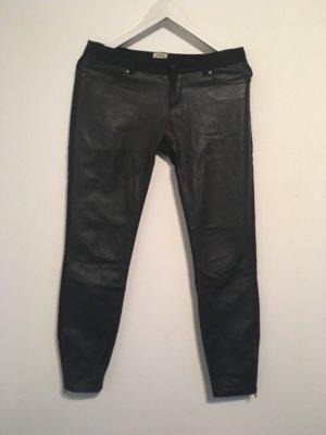 Twist & Tango Pantalón de cuero negro Cuero