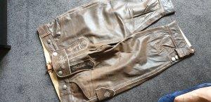Pantalone tradizionale bronzo Pelle