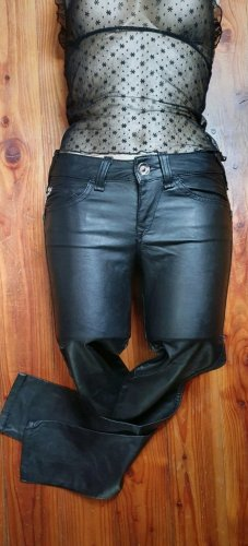 Fornarina Leather Trousers black