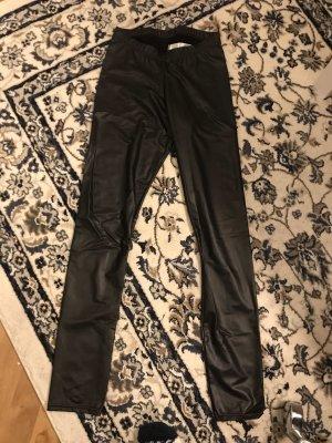Lederimitat-Leggings von H&M, S
