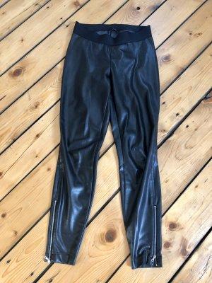 Cambio Pantalone in pelle nero