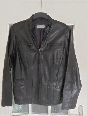 Canda Faux Leather Jacket black