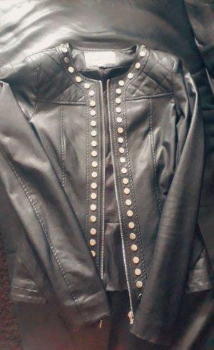 Blaze Faux Leather Jacket black