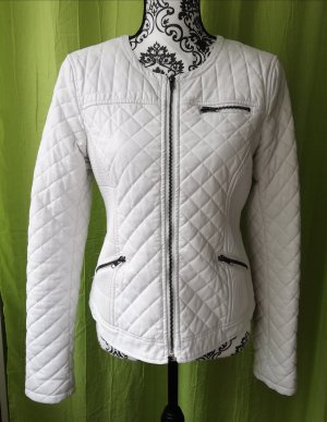 Broadway Giacca in pelle bianco
