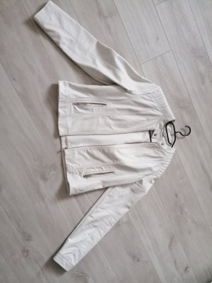 unknown Faux Leather Jacket white