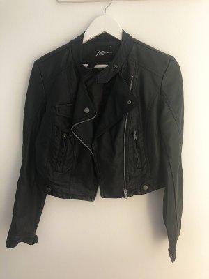 Ann Christine Leather Jacket black leather