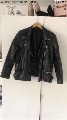 BDG Leather Jacket black