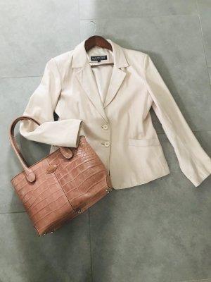 Mauritius Leather Jacket pink