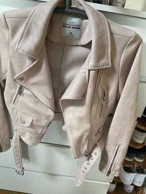 Tally Weijl Biker vest stoffig roze