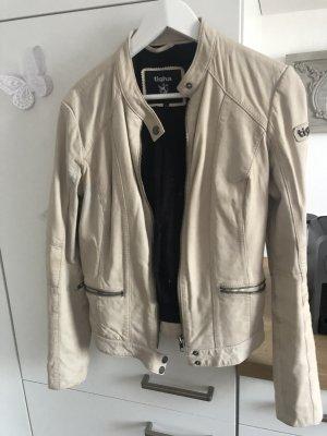 Tigha Leather Jacket dusky pink