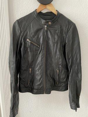 mbyM Leather Jacket black