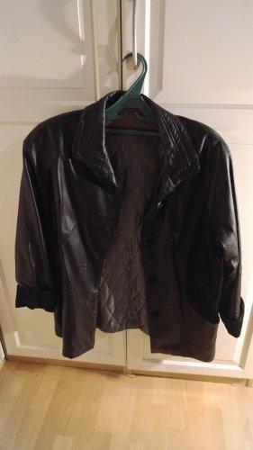 Canda Veste en cuir noir
