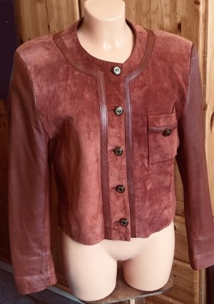 Alexandra Leather Jacket cognac-coloured-russet