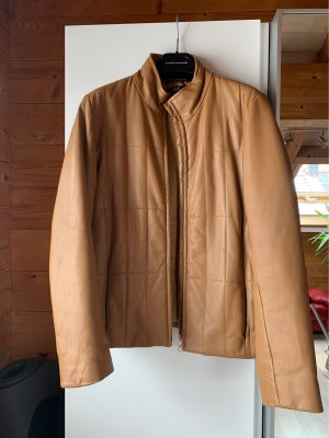 Apart Leather Jacket camel