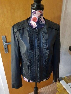 Heine Leather Jacket black